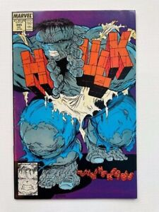 Hulk 345 Near Mint- 9.2 NM- Classic McFarlane Title Disrupt Cover High Grade NR