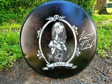 Kent Diimmel Autographed Hand Painted Drumhead Nightmare Before Christmas Sally