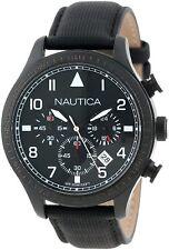 Nautica N18685G BFD 105 Black Dial Chronograph Men's Analog Quartz Sports Watch