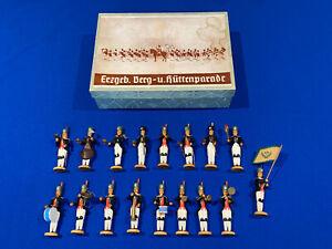 Konvolut Figuren Bergparade Walter Werner Seiffen in Originalkarton