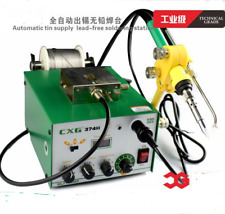 HOT CXG374H automatic Tin Supply Feed Systemlead-free Welding soldering station