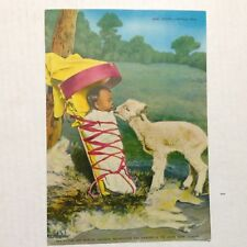 """Postcard Baby Sitting Navajo Style H. Armstrong Roberts 5.75"""" x 8.25"""""""