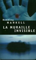 Livre la muraille invisible Henning Mankell 2002 Seuil book