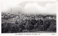 Vue Générale CHANDLER Gaspésie Quebec Canada 1940-50s H.V. Henderson RPPC NB-C 8