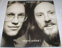 America - Silent Letter - OIS mit Text Lyrics - Made in Germany - Vinyl LP Album