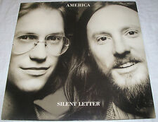America - Silent Letter - OIS mit Text Lyrics - Made in Germany - Vinyl LP Album
