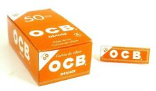 KIT 3000 CARTINE OCB ORANGE 50 X 60 CORTE ARANCIONI ASTUCCIO BOX LIBRETTI