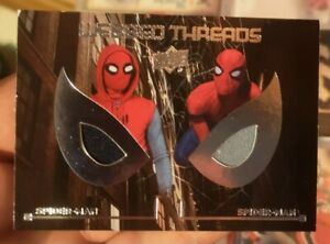 Spider-Man Homecoming 2017 Webbed Threads Dual Movie Memorabilia Card WTD10