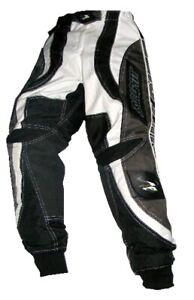 Bullpitt Pants MX BMX Motocross Downhill Grey Blue Kids Size 20 22 LONG FIT