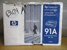Genuine HP 92291A 91A Laserjet lllSi 4Si Toner Cartridge OEM NEW