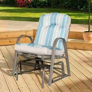 Garden Recliner Chair Single Rocker Outdoor Lounge Sun Beach Garden Patio