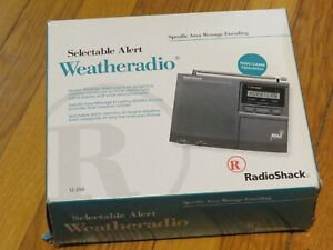 New Radio Shack Weather Alert Radio 7 Channels Model 12-250 Weatheradio NWR SAME