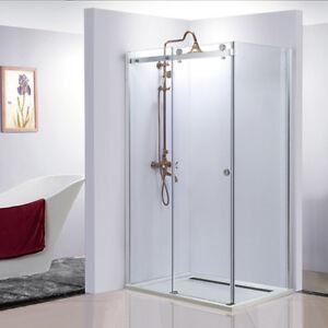 Frameless 10mm Glass Bathroom Shower shower screen 1100*900mm