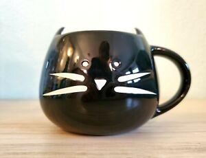Ceramic Black Kitty Cat Mug Coffee or Decoration Planter Cute! EUC