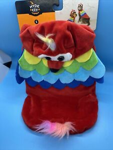 HYDE And EEK Halloween Pet Costume, Parrot Vest & Headpiece Size Small - Cat/Dog