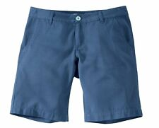 Herren Shorts kurz kurze Hose Chino Chinostyle - Blau - Gr. 56