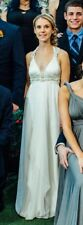 Anna Campbell Wedding Dress Size 0 / XS Ivory Satin Amity Collection Rare Dress