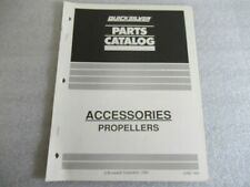 Pm161 1994 Quicksilver Accessories Propellers Parts Catalog Manual