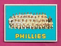 1967 TOPPS # 102 PHILLIES TEAM PHOTO  EX-MT CARD (INV# A8579)