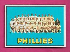 1967 TOPPS # 102 PHILLIES TEAM PHOTO  EX-MT CARD (INV# A8579)