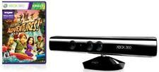 New Microsoft Xbox 360 Kinect Sensor Bar w/ Kinect Adventures Game Black NWT NIB