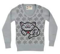 Licensed BIG BANG THEORY Soft Kitty Knit Sweater Girl Juniors S M L XL XXL NEW