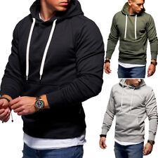 Herren Sport Sweatshirts & Kaputzenpullis in Grau günstig