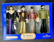 Kurt Adler Beatles Yellow Submarine Christmas Ornaments Set of 4 New