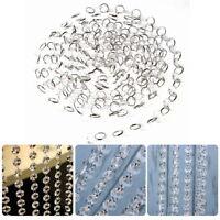 10m Acryl Diamant Kristall Hochzeit Party Deko Perlenvorhang Chain Perlen