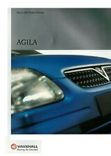 VAUXHALL AGILA 2000 MODELS PRODUCT PREVIEW BROCHURE. VM0001443 03.00 [UK]