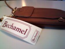 Brown Leather BECHAMEL satchel handbag - EUC new free shipping vintage