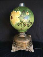Weekend Sale! Victorian Oil Lamp Wright & Butler Lampe Veritas c. 1890