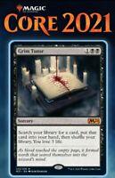 Magic the Gathering (mtg): Core Set 2021: Grim Tutor - Rare - Foil
