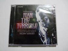 SEALED PROKOFIEV IVAN THE TERRIBLE CD VALERY GERGIEV 1997 DIGITAL AUDIOPHILE