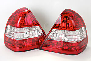 Tail Lights Rear Lamps PAIR Fits MERCEDES C-Class W202 Sedan 94-00