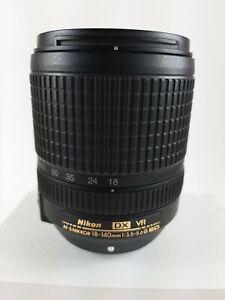 Nikon AF-S DX SWM VR ED IF Aspherical  NIKKOR 18-140mm F/3.5-5.6G ED Lens - NICE