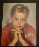 AARON CARTER SIGNED 8X10 PHOTO AARONS PARTY NICK CARTER BSB W/COA+PROOF RARE WOW