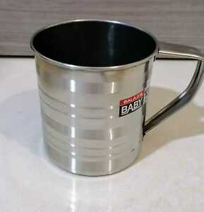 Stainless Steel Camping 10cm Mug Traveling Water Drinking Cup Glass