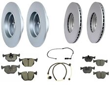 BMW E53 X5 00-03 4.4L Best Value Full Brake Kit Rotors Ceramic Pads Pex Sensors