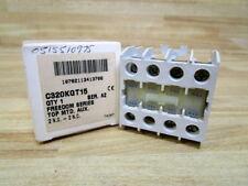 Cutler Hammer C320KGT15 Eaton Auxillary Contact