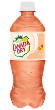 Canada Dry Peach Soda 6 Pack