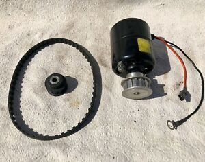 Moroso Electric Motor Water Pump Drive With Larger Pulley