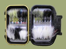 Cats Whisker e Flash Damigella mosche, 24 per confezione, buona selezione, per pesca a mosca
