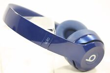 USED Beats by Dr. Dre Solo 2 Wired HD Headphones (Blue) **HEADPHONES ONLY**