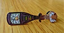 HARD ROCK CAFE MANCHESTER NEW YEAR 2003 CHAMPAGNE BOTTLE SHAPED ENAMEL BADGE