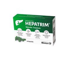 HEPATRIM 20 kaps. wątroba trawienie jelita wzdęcia LIVER Leber colon digestion
