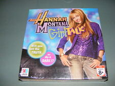 2007 Hannah Montana Girl Talk Game SEALED