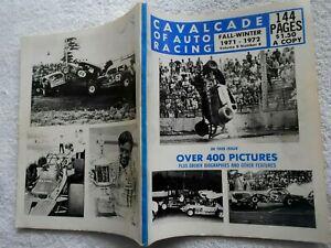 CAVALCADE OF AUTO RACING-FALL-WINTER,1971-1972 ISSUE