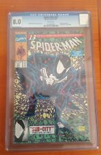 Spider-Man 13 CGC 8.0 Todd Mcfarlane Black Costume Cover Homage Amazing Marvel 1