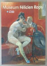 KUNSTBOEK / LIVRE D'ART / FELICIEN ROPS / MUSEUM GIDS